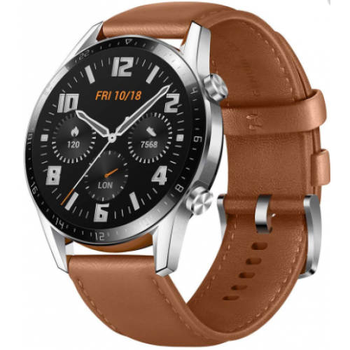 SMART WHATCH GT 2 CLASSIC HUAWEI, COLOR PEBBLE BROWN