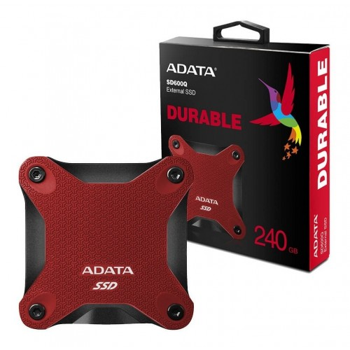 UNIDAD SSD ADATA -ROJO