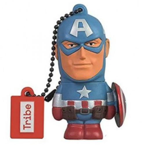 Memoria Manhattan USB 32 GB  MARVEL Captain America