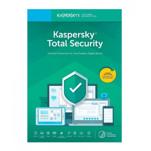 KASPERSKY TOTAL SECURITY 5USER_1Y_NO CD