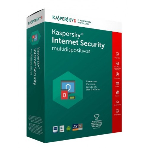 KASPERSKY INTERNET SECURITY MULTIDISPOSITIVOS 10 DISPOSITIVOS