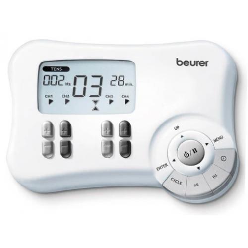 ELECTROESTIMULADOR BEURER TENS/EMS 4 CANALES
