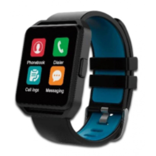 GHIA SMART WATCH NEGRO – AZUL