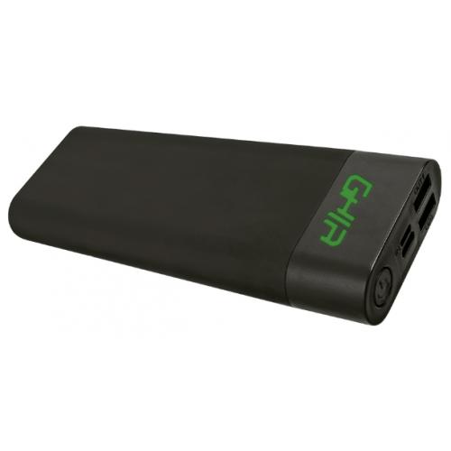 Bateria Portatil GHIA Volta – 20100 mAh – 2 USB – Negro