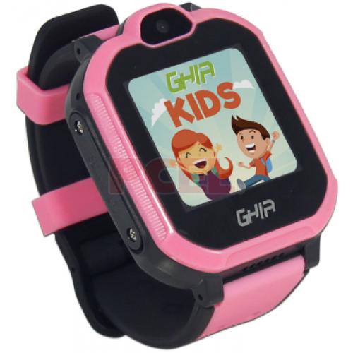 SMARTWACH GHIA KIDS 4G ROSA