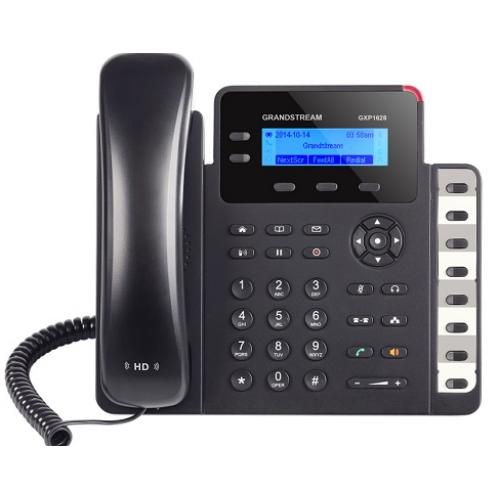 TELFONO IP BASICO GIGABIT DE 2 LINEAS 2 CUENTAS SIP CON 3 TECLAS DE FUNCIN 8 TECLAS DE EXTENSIN BLF Y CONFERENCIA DE 4 VAS POE Y FUENTE DE ALIMENTACION INCLUIDA