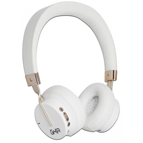 AUDIFONOS DIADEMA BLUETOOTH GHIA N3 COLOR BLANCO