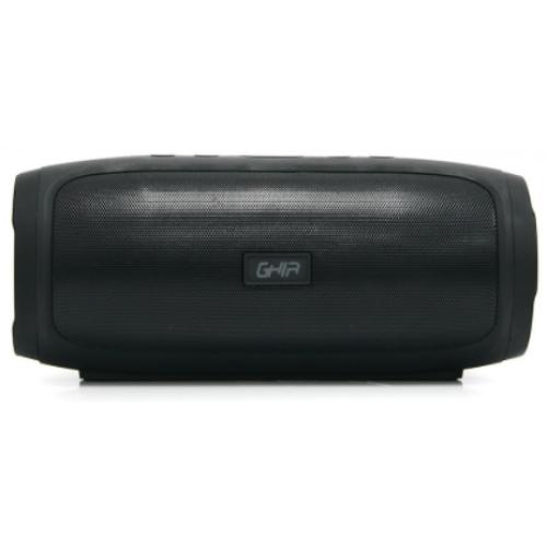 BOCINA BLUETOOTH BX400N GHIA NEGRO /8W X2 RMS AUX / MICRO SD CARD/USB