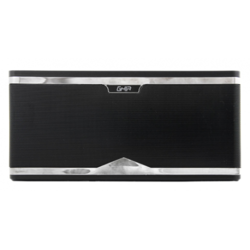 BOCINA BLUETOOTH BX700 GHIA NEGRA 8W X 2 / TWS/AUX/RADIO FM/ MICRO SD CARD/USB