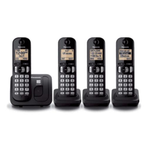 TELEFONO DIGITAL INALAMBRICO CON CUATRO AURICULARES,