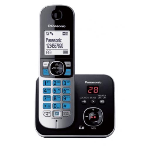 TELEFONO ALAMBRICO PANASONIC KX-TG6821 CON CONTESTADORA – NEGRO
