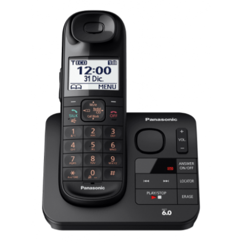 TELEFONO INALAMBRICO KX-TGL430MEB INALAMBRICO CON IDENTIFICADOR DE LLAMADAS POR VOZ,