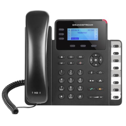 TELFONO IP BASICO GIGABIT DE 3 LNEAS 3 CUENTAS SIP CON 3 TECLAS DE FUNCIN 8 TECLAS DE EXTENSIN BLF Y CONFERENCIA DE 4 VAS