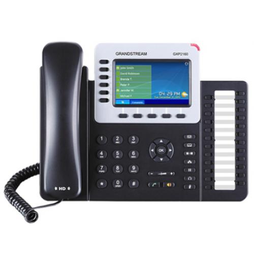 TELFONO IP COLOR GIGABIT PARA 6 LNEAS 6 CUENTAS SIP AUDIO HD BLUETOOTH 2.1 24 TECLAS PROGRAMABLES