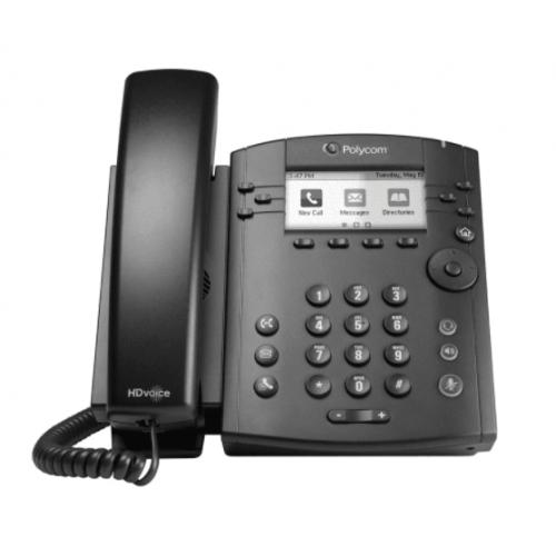 TELEFONO IP POLYCOM VVX 311 POE,PARA 6 LINEAS GIGABIT ETHERNET