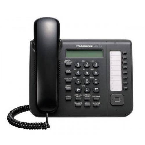 TELEFONO PANASONIC KX-DT521 DIGITAL CON 8 TECLAS PROGRAMABLES PARA EXTENCIONES DIGITALES