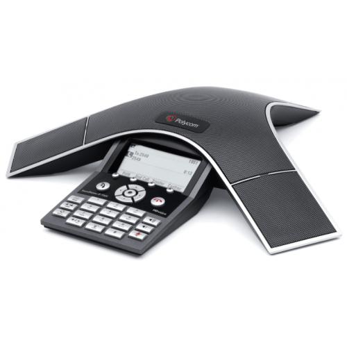 TELEFONO SOUNDSTATION IP 7000 SIP POE,AMPLIABLE INCLUYE FUENTE DE ALIMENTACION DE 100-240V,1.5A,48V/50W