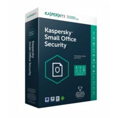 KASPERSKY SMALL OFFICE SECURITY 5 USUARIOS 1 SERVER / 1 AÇ?O / CAJA