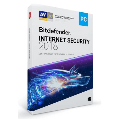 BITDEFENDER INTERNET SECURITY 5 USUARIO 1 AÇ?O DE VIGENCIA (CAJA)
