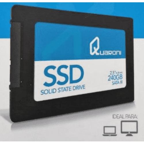 UNIDAD DE ESTADO SOLIDO SSD QUARONI 2.5 240GB SATA3 6GB