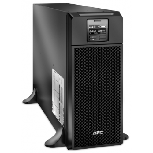 NO BREAK/UPS APC SMART UPS SRT 6000VA/6000W 208V/208V 6 CONTACTOS 3L6-30R/2L6-20R/1 HW ON