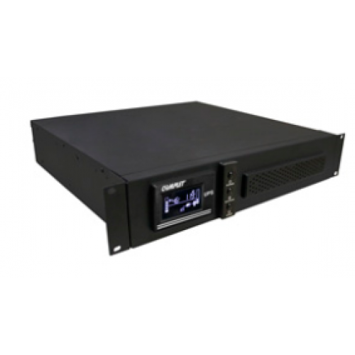 UPS ON LINE 3000VA/3000W COMPLET SR 3000 SENOIDAL DOBLE CONVERSION ALTA FRECUENCIA RESPALDO 15 MINS 120V ENTRADA/SALIDA GABINETE RACK