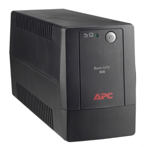 NO BREAK BACK-UPS DE APC DE 800 VA Y 120 V AVR LAM