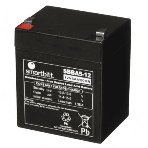 BATERIA SMARTBITT 12V/5 AH COMPATIBLE CON SBNB500 SBNB600 Y SBNB800