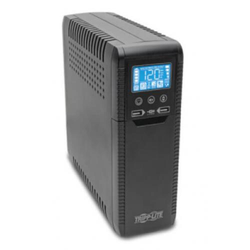 NO BREAK TRIPP-LITE ECO1000LCD 120V 50/ 60HZ 1000VA / 600 WATTS INTERACTIVO CON USB Y 8 CONTACTOS AVR SERIE ECO ENERGY STAR V2.0