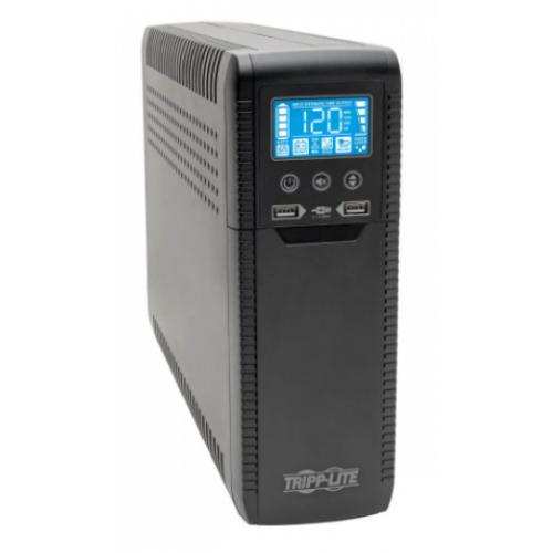 NO BREAK TRIPP-LITE ECO1300LCD 120V 50/ 60HZ 1300VA / 720 WATTS INTERACTIVO CON USB Y 10 CONTACTOS AVR SERIE ECO ENERGY STAR V2.0.