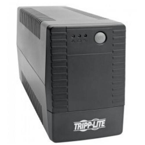 NO BREAK TRIPP-LITE VS650T 120V 50/ 60HZ 650VA / 360 WATTS INTERACTIVO 6 CONTACTOS AVR SERIE VS TORRE.
