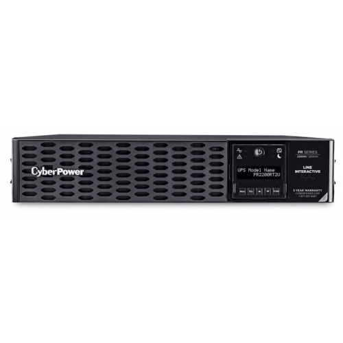 NO BREAK CYBERPOWER (PR2200RT2U) 2200VA / 2200W RACK/TORRE 2U 8 NEMAS 5-20R SENOIDAL