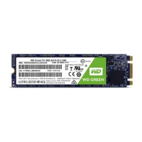 UNIDAD DE ESTADO SOLIDO SSD WD GREEN M.2 480GB SATA3 6GB/S LECT 545MB/S ESCRIT 480MB/S