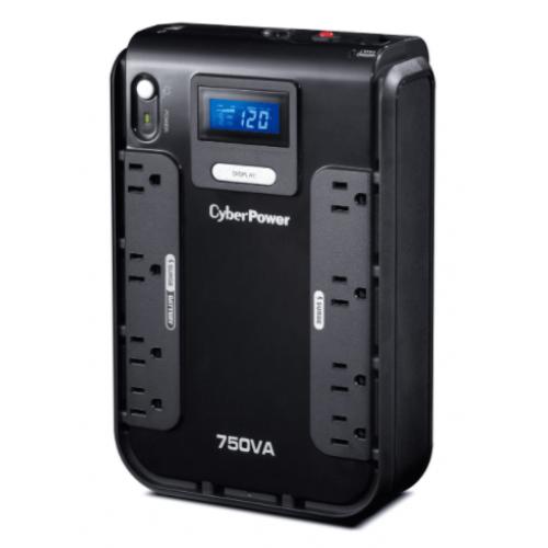 NO BREAK / UPS CYBERPOWER LCD INTELIGENTE 750 VA 420 WATTS 3 A¥OS DE GARANTIA EN PILA Y EQUIPO