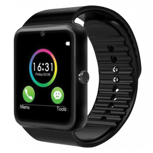 SMART WATCH TECHZONE GINGA CAMARA COLOR NEGRO