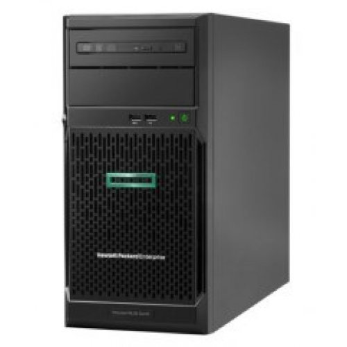 SERVIDOR HPE PROLIANT ML30 GEN10 INTEL XEON E-2224 QUAD-CORE 3.40GHZ 8MB 16GB 1 X 16GB DDR4 2666V-E UDIMM 1TB 7.2K RPM NON-HOT PLUG 3.5IN SATA SMART ARRAY S100I NO OPTICAL 350W 3YR PARTS 1YR ONSITE