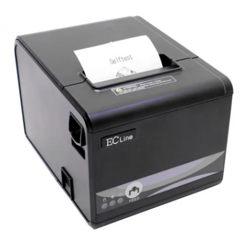 MINIPRINTER TERMICA EC LINE EC-PM-80250-USB+SERIAL+ETHERNET AUTOCORTADOR USB NEGRA 80 MM (3.15)