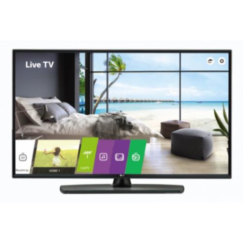 TELEVISOR HOTELERO 49 PLG UHD COMPATIBLE CON PRO:CENTRIC PRO IDIOM WEB OS 4.0 USB CLONING CONEXIONES HDMI (2) USB (2)