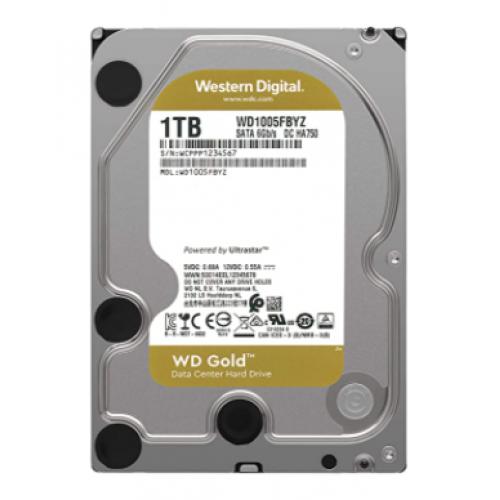 DD INTERNO WD GOLD 3.5 1TB SATA3 6GB/S 128MB 7200RPM 24X7 HOTPLUG P/NAS/NVR/SERVER/DATACENTER