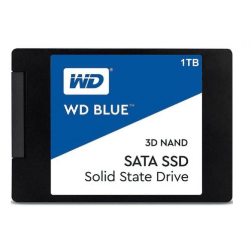 UNIDAD DE ESTADO SOLIDO SSD WD BLUE M.2 2280 500GB SATA 3DNAND 6GB/S 7MM LECT 560MB/S ESCRIT 530MB/S