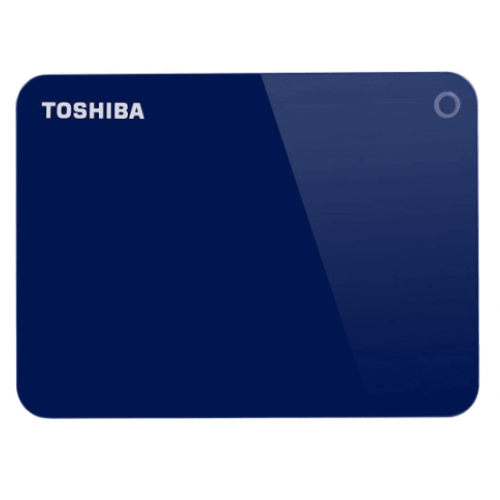 DD EXTERNO 2TB TOSHIBA CANVIO ADVANCE 2.5//USB 3.0//AZUL//VELOCIDAD DE TRANSFERENCIA HASTA 5GB/S//PASSWORD PROTECTION/SOFTWARE DE RESPALDO//WIN 10