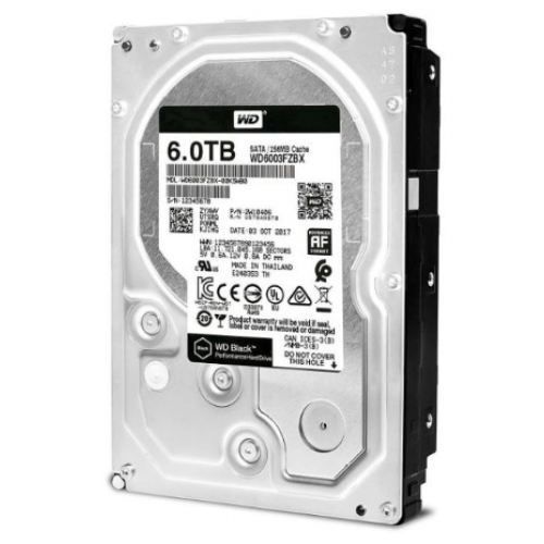 DD INTERNO WD BLACK 3.5 6TB SATA3 6GB WD6003FZBX