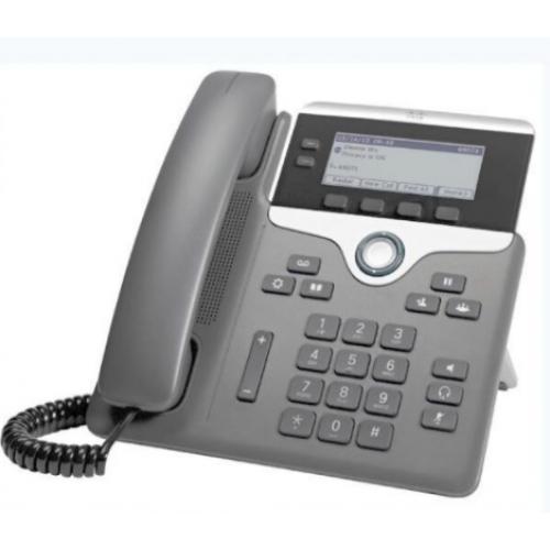 TELEFONO CISCO 7821 2 LINEAS DISPLAY 3.5 MONTAJE EN PARED