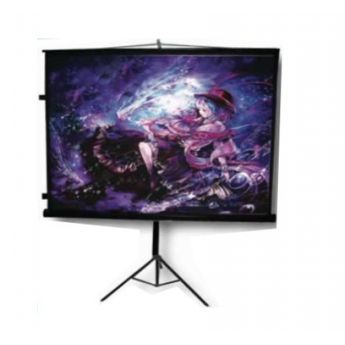 PANTALLA MULTIMEDIA SCREEN MST-244 TRIPIE PORTATIL 136 PULGADAS