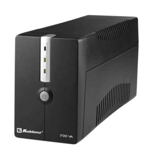 NO BREAK KOBLENZ 7016 USB/R 700VA / 360W 25 MINUTOS DE RESPALDO 6 CONTACTOS NEMA 5-15R. CONEXION USB IDEAL PARA COMPUTADORAS EQUIPOS DE AUDIO VIDEO Y MODEMS
