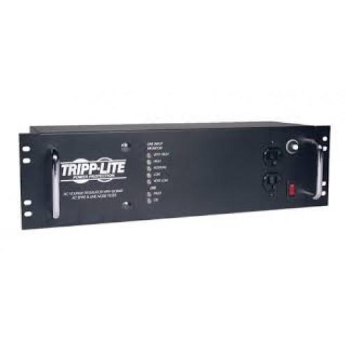 REGULADOR AUTOMATICO AVR TRIPP-LITE LCR2400 2400 WATTS 14 CONTACTOS DE 3U DE RACK.