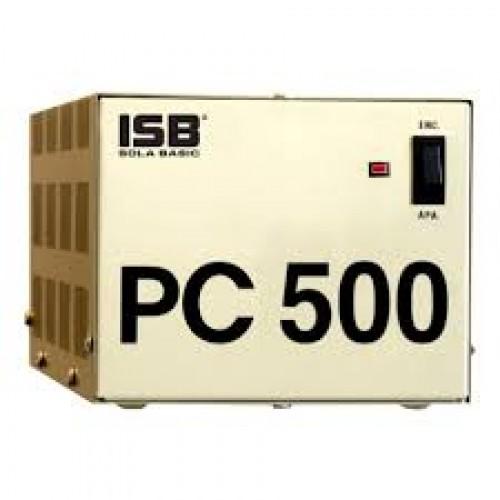 REGULADOR SOLA BASIC ISB PC 500 FERRORESONANTE 500VA / 400W 4 CONTACTOS COLOR BEIGE