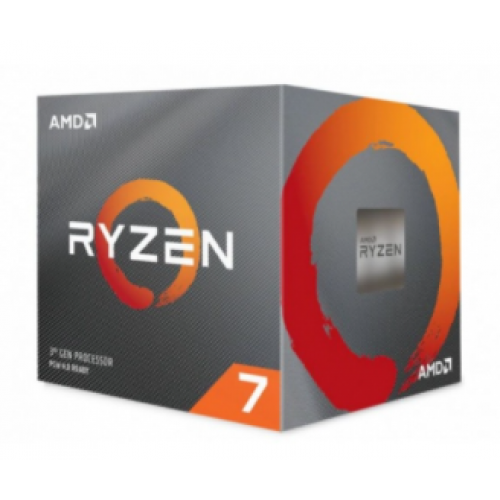 PROCESADOR AMD RYZEN 7 3700X S-AM4 3A GEN. 65W 3.7GHZ TURBO 4.4GHZ 8 NUCLEOS/SIN GRAFICOS INTEGRADOS PC/ VENTILADOR WRAITH PRISM /GAMER ALTO RENDIMIENTO.