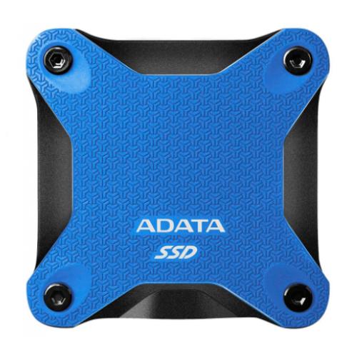 UNIDAD DE ESTADO SOLIDO SSD EXTERNO ADATA SD600Q 240GB USB 3.1 AZUL WINDOWS/MAC/LINUX/ANDROID