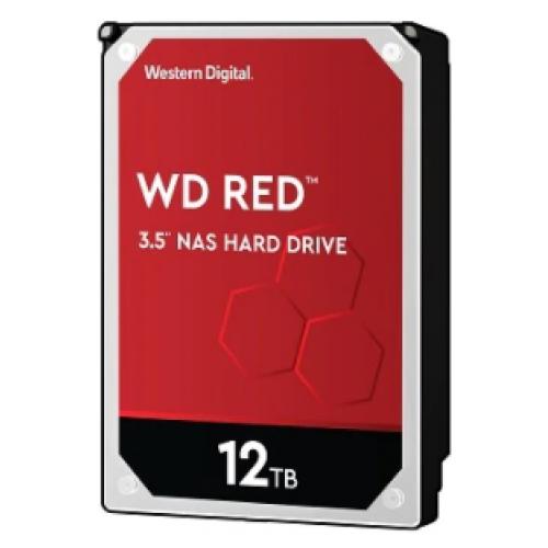 DD INTERNO WD RED 3.5 12TB SATA3 6GB/S 256MB 24X7 HOTPLUG P/NAS 1-8 BAHIAS